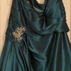 Night Moves Dresses - Teal Night Moves Formal Dress